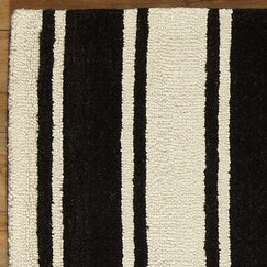 <strong></strong> Tenley Rug, Black and White