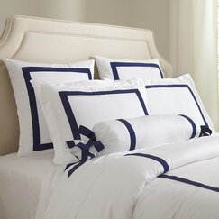 Celina Bedding Collection, Navy & White
