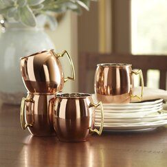 Classic Mule Mug Set (Set of 4)