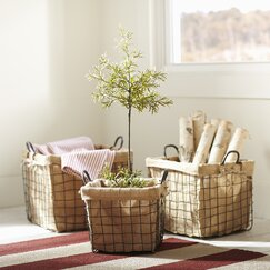 Schoolhouse Basket Set