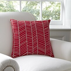 Cassie Pillow Cover, Red
