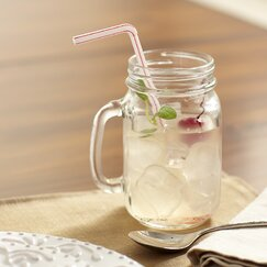 Drinking Jars with Handles (Set of 4)