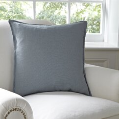 Milly Cotton Pillow Cover, Pewter