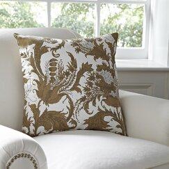 Vivi Pillow Cover, White & Natural