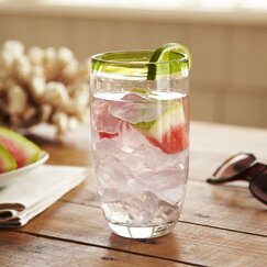 Jubilee Highball Glasses, Leaf (Set of 4)