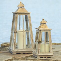 <strong></strong> Nesting Lanterns (Set of 2)