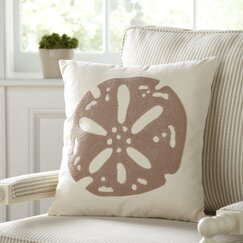 Elsa Pillow Cover, Sand Dollar