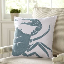 Selma Pillow Cover, Crab