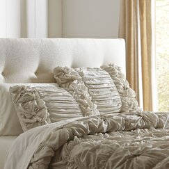 Laurel Comforter Set, Stone