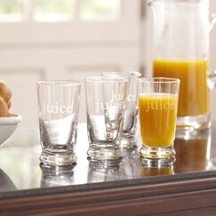 Juice Glasses (Set of 4)