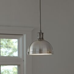 <strong>Orleans Pendant, Brushed Nickel</strong>
