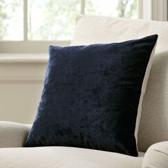 Rochelle Pillow Cover, Navy