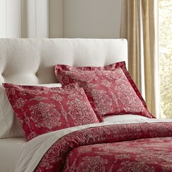 Sandrine Duvet Set, Red