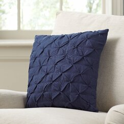 Alda Pillow Cover, Navy