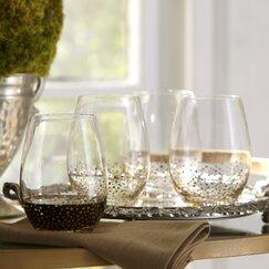Medina Old-Fashioned Lowball Glasses (Set of 4)