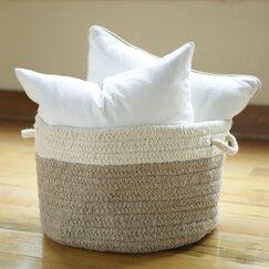 Minter Wool Basket, Natural