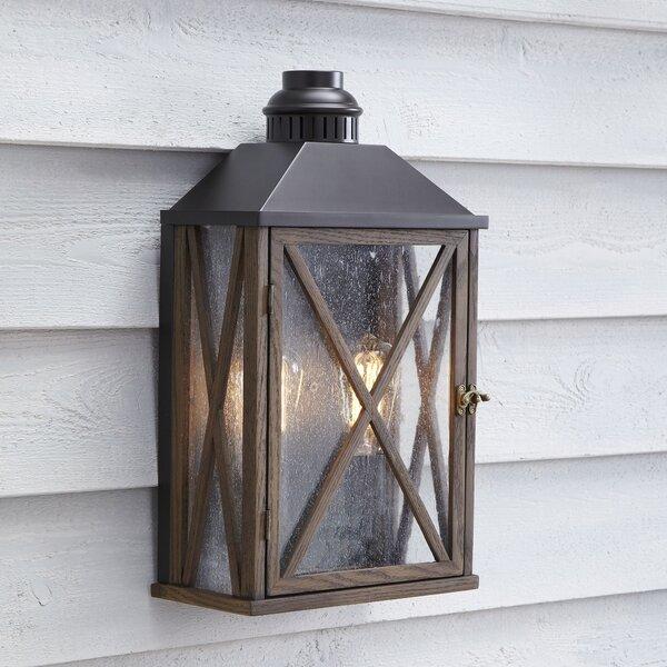 Birch Lane Sandy Bay 2-Light Outdoor Lantern Sconce